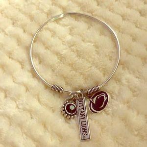 Jewelry - silver penn state charm bracelet